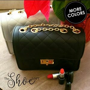 Quilted Flap Bag - Small